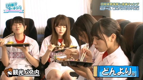 【ひなあい宮崎】丹生ちゃんの弁当の食べ方、神対応すぎる